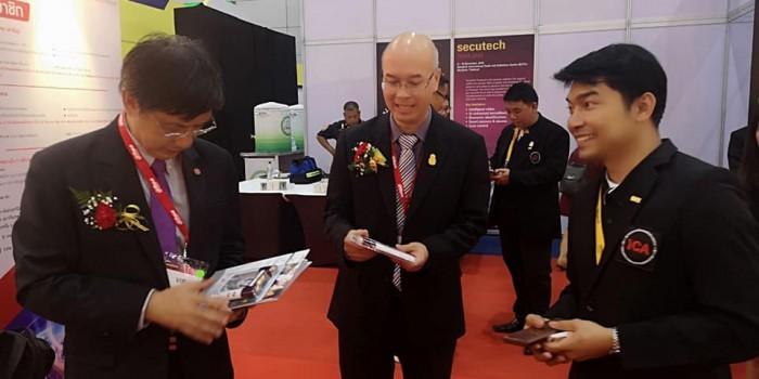 การเปิดตัวสมาคมระบบบกล้องวงจรปิดอัจฉริยะไทย