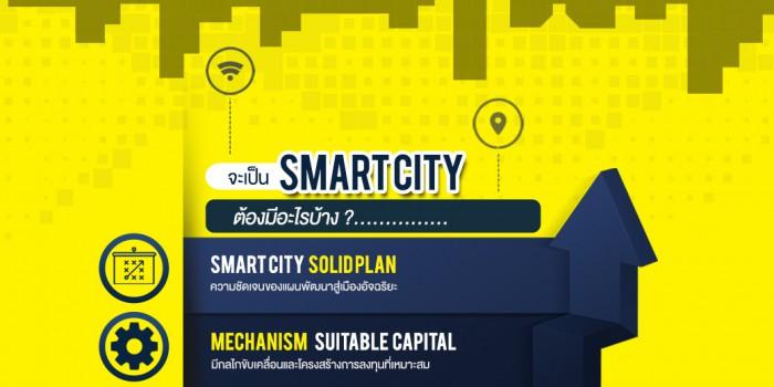 จะเป็น Smart City ต้องมีอะไรบ้าง?