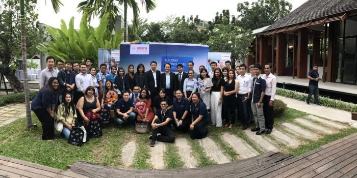 บริษัท ซีซีทีวี (ประเทศไทย) จำกัด จัดประชุมผู้แทนจำหน่ายผลิตภัณฑ์ Bosch Security and Safety Systems ประจำปี 2562