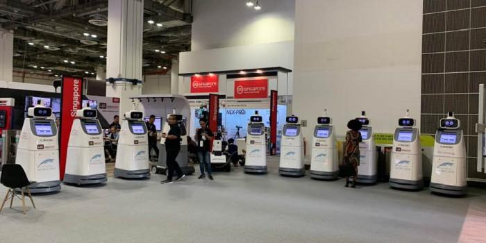 Oneberry RoboGuard ™ เป็นหุ่นยนต์ตรวจสอบความปลอดภัย Nx Witness