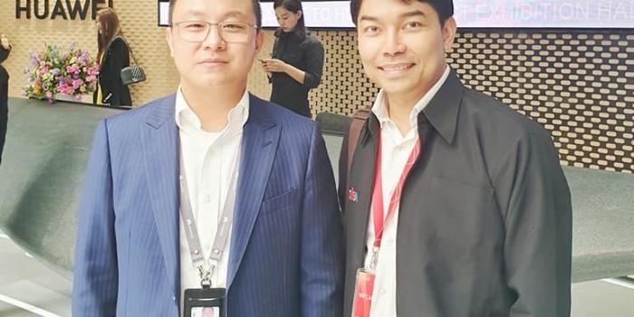 ซีซีทีวี-ประเทศไทย ได้รับเกียรติเชิญเยี่ยมชมกิจการผลิตภัณฑ์ หัวเว่ย (สำนักงานใหญ่)  เซิ่นเจิ้น ประเทศสาธารณรัฐประชาชนจีน