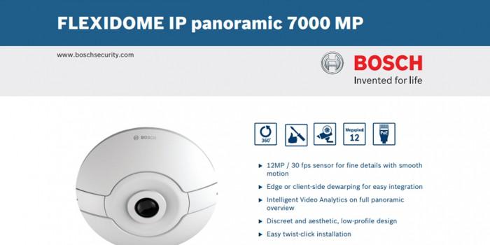 Bosch Focus 360-degree Flexidome IP7000