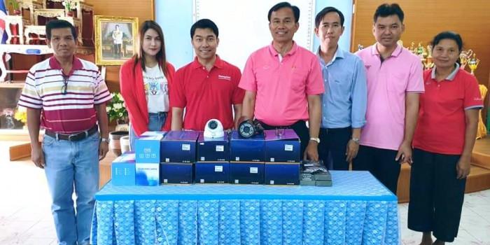 CCTV THAILAND ร่วมกับท่าน สส.วัชรพล ทำบุญบริจาคกล้องวงจรปิดสำหรับใช้ประโยชน์ให้กับโรงเรียนบ้านจอหอ จ.นครราชสีมา